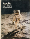 Autographs:Celebrities, Apollo Expeditions to the Moon Book Signed by EightAstronauts....