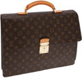 Luxury Accessories:Bags, Louis Vuitton Classic Monogram Canvas Robusto Briefcase. ...