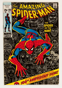 The Amazing Spider-Man #100 (Marvel, 1971) Condition: FN/VF