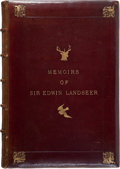 Books:Art & Architecture, F. G. Stephens. Memoirs of Sir Edwin Landseer. Illustrated with Twenty-Four of His Most Popular Works. 1874....