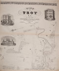 Books:Maps & Atlases, [Map]. William Barton. City of Troy N. Y. from Actual Surveys. By William Barton City Surveyor & Civil Engineer....