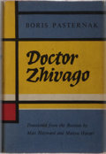Books:Literature 1900-up, Boris Pasternak. Doctor Zhivago. Collins and Harvill, 1958.First British edition, first printing. Publisher's cloth...