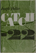 Books:Literature 1900-up, Joseph Heller. Catch-22. Jonathan Cape, 1962. First British edition, first printing. Publisher's cloth with mild rub...