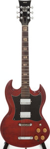Musical Instruments:Electric Guitars, 1975 Ampeg Stud Cherry Solid Body Electric Guitar. ...