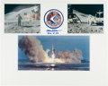 Autographs:Celebrities, Dave Scott: Apollo 15 Photo Display Signed on Mat. ...