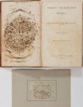 Books:Literature Pre-1900, George Cruikshank. WITH ORIGINAL DRAWING. George Cruikshank'sOmnibus. Tilt and Bogue, 1842. First edition, bound fr...