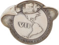 Explorers:Space Exploration, Apollo 7 Flown Robbins Medallion, Serial Number 60. ...