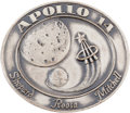 Explorers:Space Exploration, Apollo 14 Flown Silver Robbins Medallion, Serial Number 100. ...