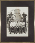 Explorers:Space Exploration, Mercury Seven Astronauts: Photo Signed by All. ...