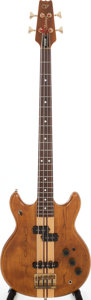 Musical Instruments:Bass Guitars, Early 1980s Vantage VP850B Natural Electric Bass Guitar, Serial # 2051283....