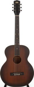 Musical Instruments:Acoustic Guitars, 1970s Oahu Square Neck Sunburst Hawaiian Guitar, Serial # 968H1190....