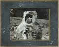 Autographs:Celebrities, Charles Conrad Signed Lunar Surface Photo....