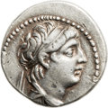 Ancients:Greek, Ancients: Antiochus VII Euergetes-Sidetes (138-129 BC). AR didrachm(22mm, 7.08 gm, 12h). ...