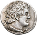 Ancients:Greek, Ancients: Ptolemy V Epiphanes (205/4-180 BC). AR tetradrachm (28mm,14.08 gm, 12h). ...