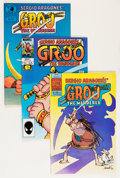 Modern Age (1980-Present):Humor, Groo the Wanderer #1-8 and Others Group (Various, 1982-85)Condition: Average NM-.... (Total: 11 Comic Books)