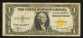 Small Size:World War II Emergency Notes, Fr. 2306 $1 1935A North Africa Silver Certificate. Very Fine-Extremely Fine.. ...