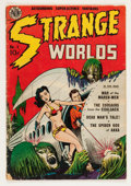Golden Age (1938-1955):Science Fiction, Strange Worlds #1 (Avon, 1950) Condition: FR/GD....
