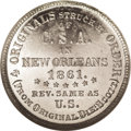 Confederate States of America: , 1861 50C Scott Token PR64 NGC. Breen-8003. White metal. J.W. Scottpurchased the Confederate half dollar reverse die in 187...