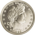 Proof Barber Half Dollars: , 1896 50C PR66 Cameo NGC. This sharply struck Premium Gem is close to brilliant, although the portrait edges show hints of t...