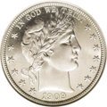 Proof Barber Half Dollars: , 1909 50C PR66 NGC. An especially well preserved proof Barber half dollar with surfaces that are nearly devoid of post-strik...