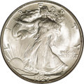 Walking Liberty Half Dollars: , 1927-S 50C MS64 PCGS. This coin is lustrous and untoned, with welldefined central devices for this normally substandard 19...