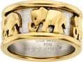 Estate Jewelry:Rings, Gentleman's Gold Ring, Cartier. ...
