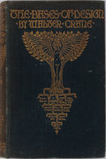 Books:Art & Architecture, Walter Crane. The Bases of Design. George Bell and Sons, 1898. Profusely illustrated. Publisher's cloth gilt. Mo...