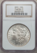 Morgan Dollars: , 1902 $1 MS65 NGC. NGC Census: (881/177). PCGS Population(1454/463). Mintage: 7,994,777. Numismedia Wsl. Price for problem...