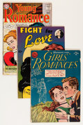 Silver Age (1956-1969):Romance, Comic Books - Assorted Golden-Bronze Age Romance Group (VariousPublishers, 1950s-'70s) Condition: Average VG/FN.... (Total: 46Comic Books)