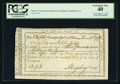 Colonial Notes:Connecticut, Connecticut Fiscal Paper Interest Certificate. Hartford, CT. PCGSExtremely Fine 40.. ...
