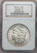 Morgan Dollars: , 1902-S $1 MS64 NGC. NGC Census: (803/109). PCGS Population(1408/322). Mintage: 1,530,000. Numismedia Wsl. Price for proble...