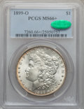 Morgan Dollars: , 1899-O $1 MS66+ PCGS. CAC. PCGS Population (1200/92). NGC Census:(1072/108). Mintage: 12,290,000. Numismedia Wsl. Price fo...