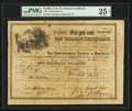 Confederate Notes:Group Lots, Payable at Marshall, Texas Ball 367 $1000 July 6, 1864 Six Per CentNon Taxable Certificate PMG Very Fine 25 Net.. ...
