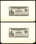 Obsoletes By State:Massachusetts, (Pittsfield), MA- Berkshire County Clearing House $1; $5; $10; $20 Mar. 10, 1933 Shafer MA-260-1; 5; 10; UNL Specimens. ... (Total: 4 notes)