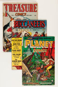 Golden Age (1938-1955):Science Fiction, Comic Books - Assorted Golden and Silver Age Science Fiction andAdventure Comics Group (Various Publishers, 1940s-'60s) Condi...(Total: 23 Comic Books)