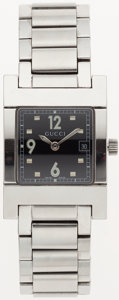 Luxury Accessories:Accessories, Gucci Silver Ladies 7700L Watch. ...