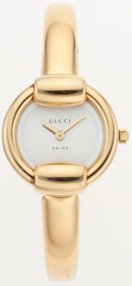 Luxury Accessories:Accessories, Gucci Gold Ladies 1400L Watch. ...