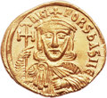 Ancients:Byzantine, Ancients: Nicephorus I and Stauracius (AD 802-811). AV solidus(21mm, 4.42 gm, 6h). ...