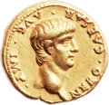 Ancients:Roman Imperial, Ancients: Nero (AD 54-68). AV aureus (19mm, 7.68 gm, 7h). ...