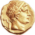 Ancients:Greek, Ancients: GRECO-BACTRIAN KINGDOM. Diodotus I as Satrap (ca. 250-230BC). AV stater (20mm, 8.29 gm, 6h). ...