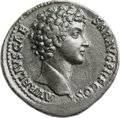 Ancients:Roman Imperial, Ancients: Marcus Aurelius as Caesar (AD 139-161). Orichalcumsestertius (33mm, 23.64 gm, 12h). ...