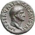 Ancients:Roman Imperial, Ancients: Galba (AD 68-69). Æ as (28mm, 11.41 gm, 6h). ...