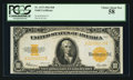 Large Size:Gold Certificates, Fr. 1173 $10 1922 Gold Certificate PCGS Choice About New 58.. ...