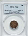 Proof Barber Dimes: , 1912 10C PR65 PCGS. PCGS Population (28/29). NGC Census: (36/30).Mintage: 700. Numismedia Wsl. Price for problem free NGC/...