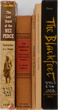 Books:Americana & American History, [Native Americans]. Five Modern Works on Native Americans. Variouspublishers. Three hardcovers (one in dust jacket) and two...(Total: 5 Items)