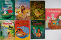 Books:Children's Books, [Walt Disney]. Seven Children's Adaptations of Walt Disney Films. Publisher's illustrated boards. Some chipping to bindings.... (Total: 7 Items)