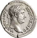 Ancients:Roman Imperial, Ancients: Hadrian (AD 117-138). AR denarius (18mm, 3.46 gm, 6h). ...