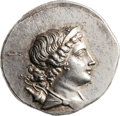 Ancients:Greek, Ancients: Magnesia ad Meandrum. Ca. 155-145 BC. AR tetradrachm (32mm, 16.70 gm, 12h)....