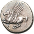 Ancients:Greek, Ancients: Corinth. Ca. 345-307 BC. AR stater (22mm, 8.52 gm,3h)....