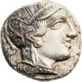 Ancients:Greek, Ancients: Athens. Ca. 454-414 BC. AR tetradrachm (25mm, 17.17 gm,9h).  ...
